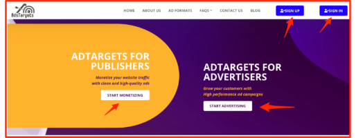 AdsTargets Ad Network