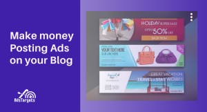 Make money posting ads