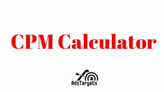 CPM Calculator – How to calculate CPM