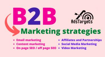 B2B digital marketing strategies