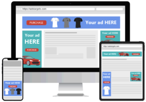 Example of Display banner ads