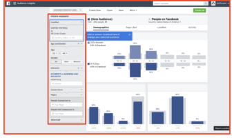 Facebook Audience insight tool