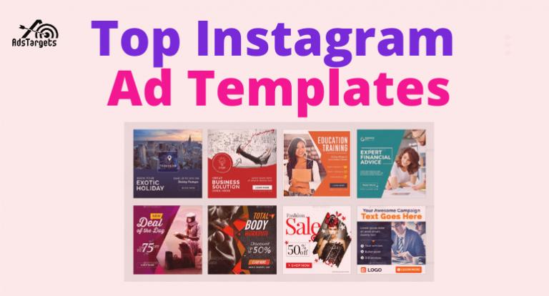 Instagram ad templates