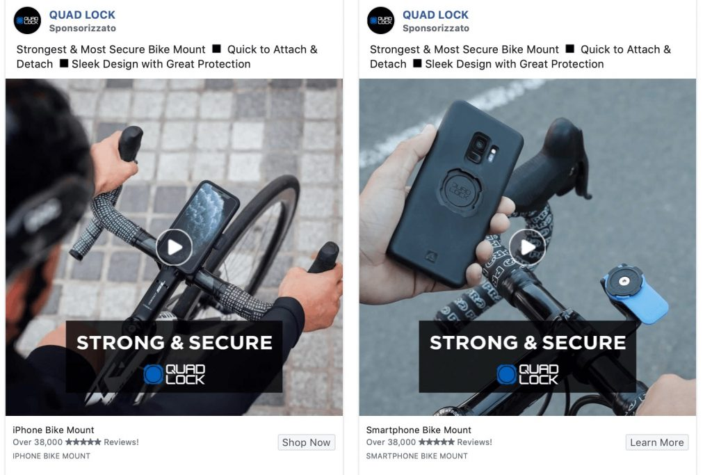 Facebook ad costs
