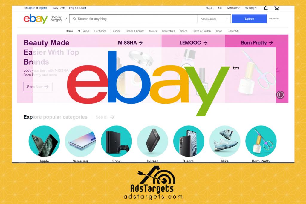 eBay free advertising listing