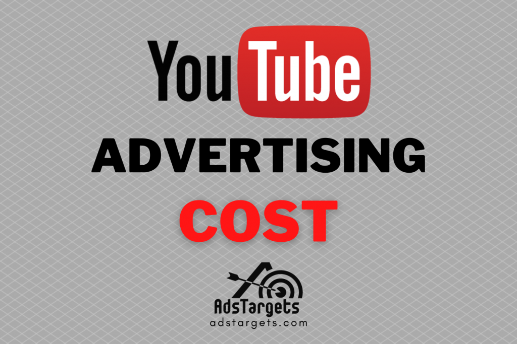 YouTube Advertising cost