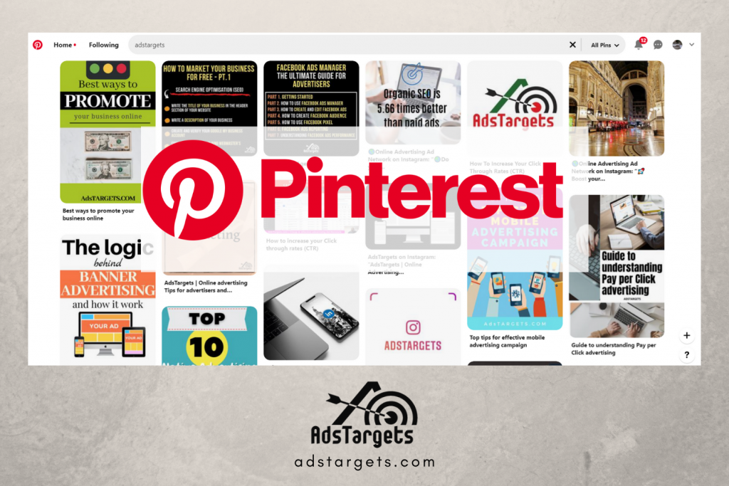 Pinterest free advertising