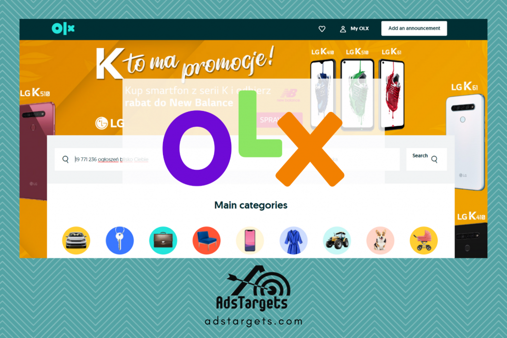 OLX advertising