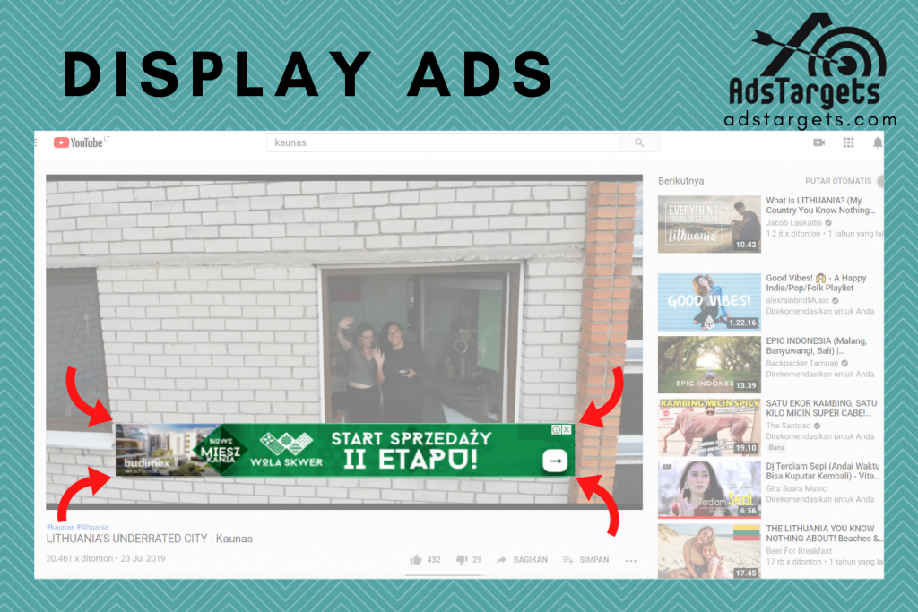 Display Ads on YouTube