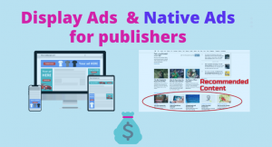 Native and Display ads