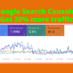 Get a 30% increase in organic traffic with Google search console