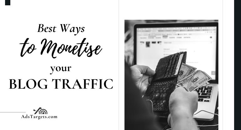 monetise your blog traffic
