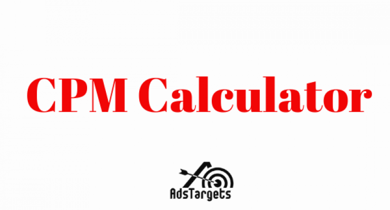 CPM-Calculator