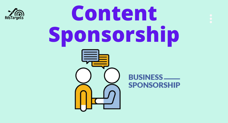 Content sponsorship