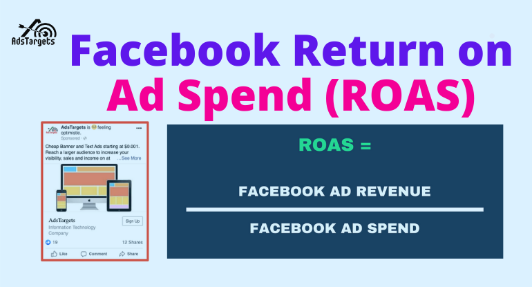Facebook return on ad spend