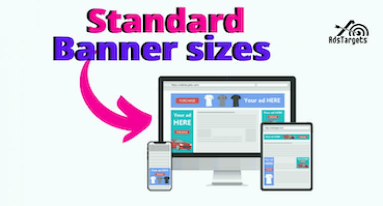 Banner ads sizes